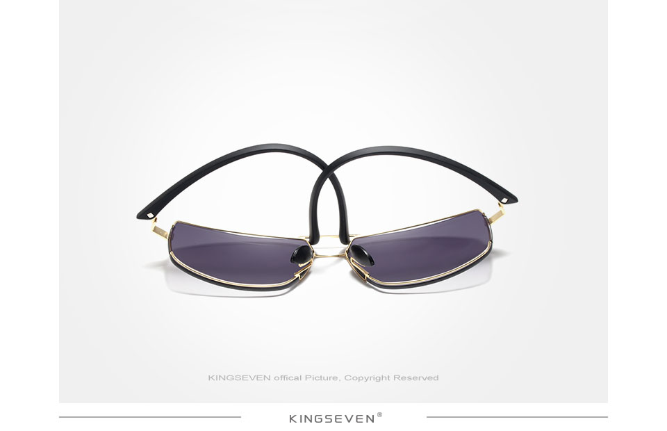KINGSEVEN Brand Design Sunglasses Men Driving Square Frame Sun Glasses Male Classic Unisex Goggles Eyewear Gafas
