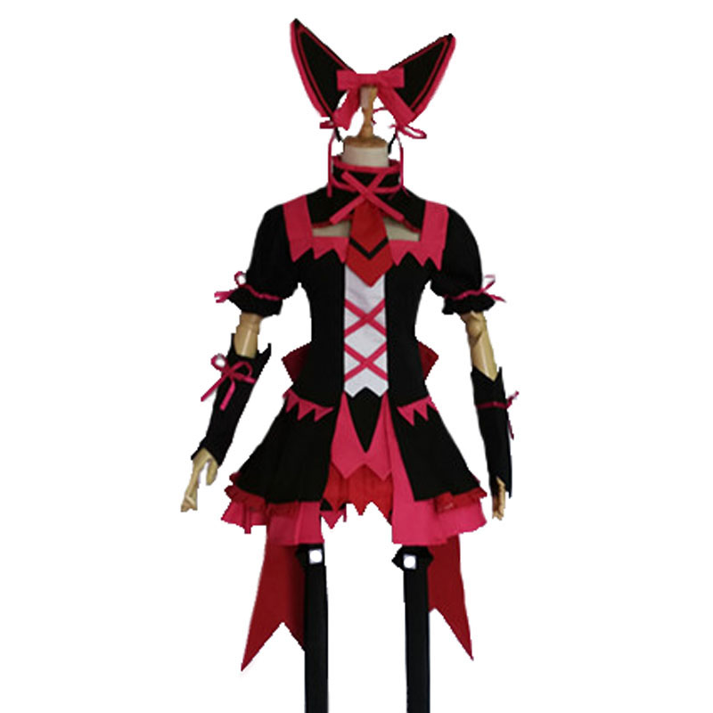 Gate Jieitai Kanochi nite Kaku Tatakaeri Rory Mercury Cosplay Costume Gothic Lolita Dress Party Costumes