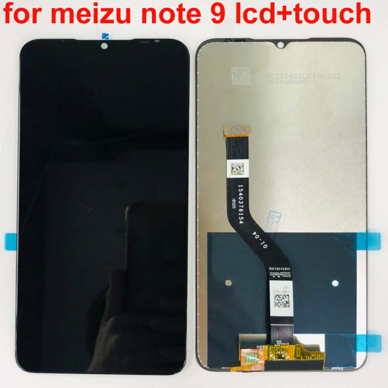 New Tested For Meizu Note 9 LCD Display Digitizer Touch Screen Glass Replacement Parts For Meizu