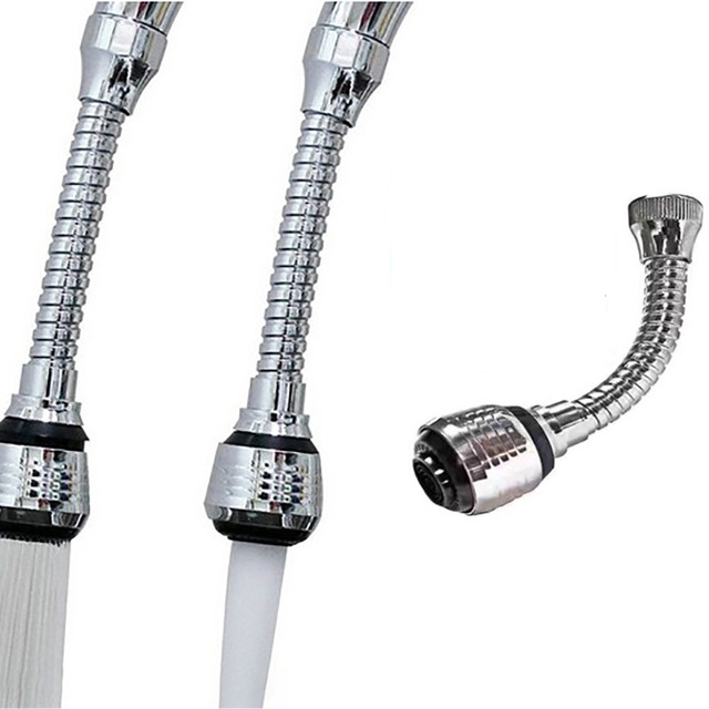 柔軟な蛇口スプレーターボフレックス 360 シンク蛇口スプレーステンレス鋼キッチン水タップ浴室アクセサリードロップシッピング *
