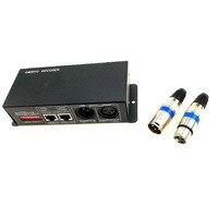 DMX 512 Decoder 3CH DC 12 V 24 V 3 Kanal * 8A DMX Controller für 3528 5050 5630 RGB LED Streifen Licht Modul Lampe Starre Bar Lichter