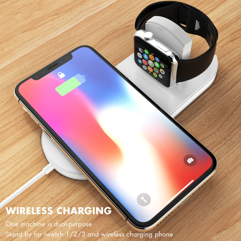 Qi Wireless Charger Fast Charging For Apple Watch 3 iwatch