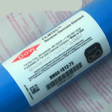 лучшая цена 1pcs replacement Dow Filmtec 75 gpd reverse osmosis membrane BW60-1812-75 for water filter