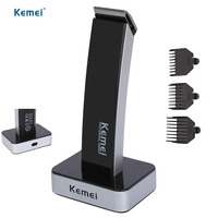 KEMEI NEW Professional Electric Clipper Hair Trimmer Beard Rechargeable Haircut Hair Cutter Hair Cutting Machine For