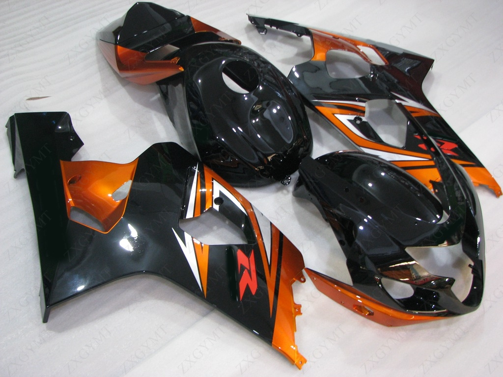 GSX R750 2004 - 2005 K4 Motorcycle Fairing GSXR 600 05 Black Orange Red Full Body Kits for Suzuki GSXR600 04 Fairing for suzuki 2004 2005 white black blue gsxr 600 750 fairing kit k4 gsxr600 qtv 04 05 gsxr750 fairings kits motorcycle 894