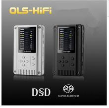 Newest  Black/Sliver HiFi Music Player 24Bit/192kHz QLS QA360 DAP DSD/SACD Portable Audio Digital Lossless