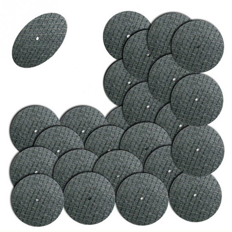 50pcs  Accessories 32mm Cutting Discs Resin Fiber Cut Off Wheel Discs For Rotary Tools Grinding Abrasive Tools