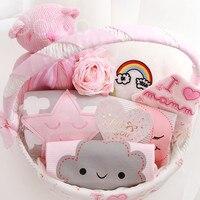 Cocostyles заказ Премиум Изысканная baby shower подарочные корзины Детские сувениры Подарочные наборы для Новорожденные девочка мальчик подарок