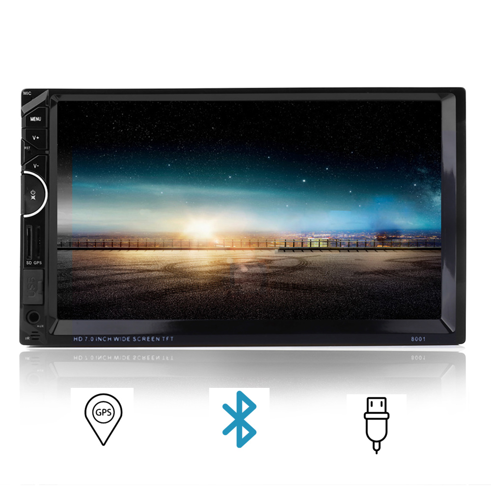 Universal 2 Din Car Video Player Auto Audio Stereo MP5 Player 7'' 2Din Car DVD Player USB FM Bluetooth Support Rear View Camera universal 2 din car video player auto audio stereo mp5 player 7 2din car dvd player usb fm bluetooth support rear view camera