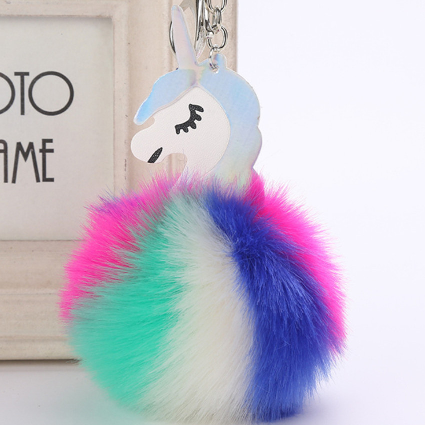 Kids Toys for Girls Children Birthday Christmas Gift Colorful Soft Unicorn Plush Stuffed Animal Backpack Keychain Pendant Dolls cute hedgehog animal doll stuffed plush toys birthday christmas gift for children baby kids friend creative kids triver toy