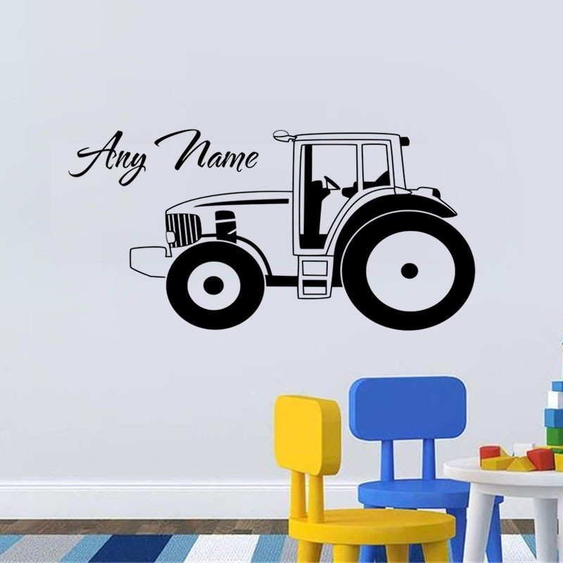 New Arrival Customized Name Wall Stickers Vinyl Art Decals