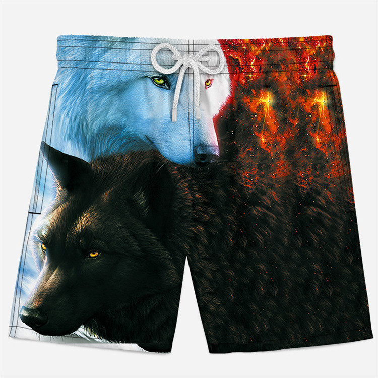 3D Shorts Underpants Elastic-Waist Summer Casual for Men Funny Animal Cosplay Xs-4xl/Boys/Sweatpants