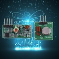 4 pcs 433Mhz RF transmitter and receiver link kit for Arduino/ARM/MCU WL for Diy