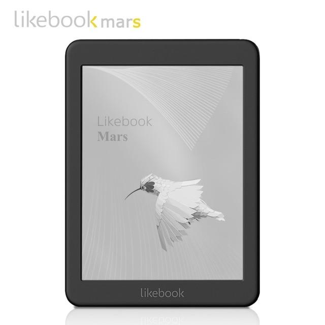 Likebook Marte eBook Reader 7,8 pulgadas BOYUE T80D e-ink Kindle 8 Core Android 6,0 2g/16g ranura para tarjeta 64g ampliar luz delantera de e-book