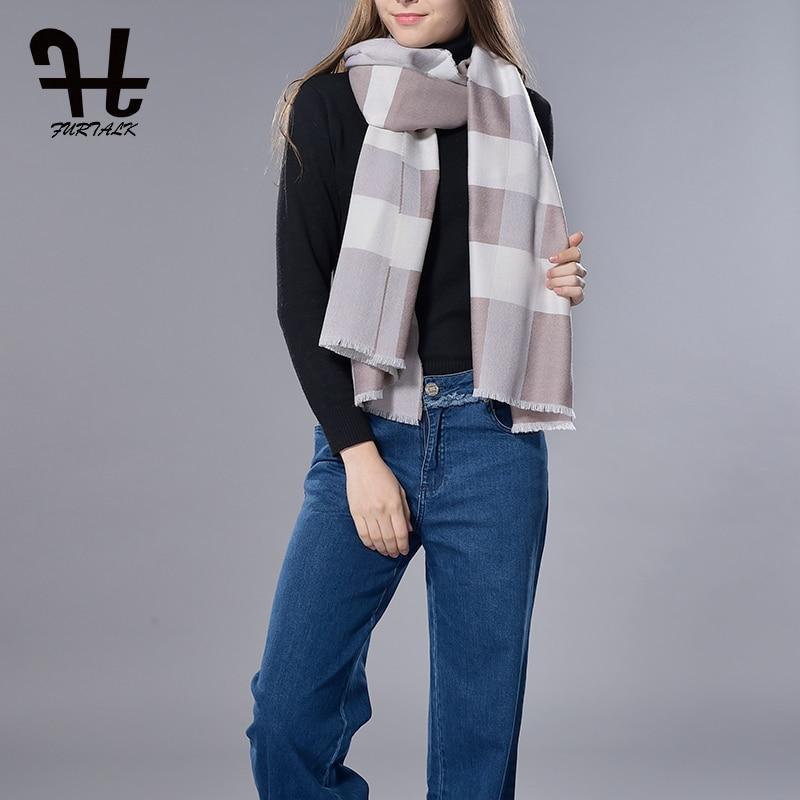 FURTALK 100% Lambswool Women Oversized Large <font><b>Scarf</b></font> Shawl Reversible Woolen <font><b>Scarf</b></font> spring Shawl Blanket Warm Shawl Wrap <font><b>Scarf</b></font>