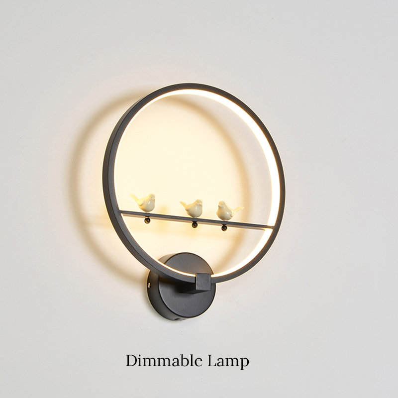 Hot Selling Modern LED Wall Lamp for Bedroom Living Room dinning room Wall Light AC85-265V Indoor Lighting for Home Decoration cute removable fish sea pattern wall stickers for living room bedroom decoration