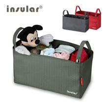 INSULAR New Style Stroller Bags Organizer Baby Diaper Changing Bags Liner