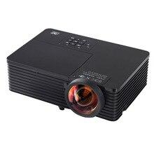 300 pulgadas de Gran Imagen 6000 ANSI Digital Multimedia HD 1024×768 XGA 1080 P de Vídeo DLP proyector Ultra Corto Alcance proyector beamer con USB RJ45