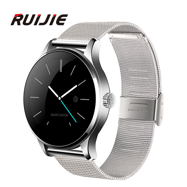 Heart Rate Monitor K88H Smart Watch Bluetooth 4.0 Smartwatch MTK2502C Siri & Gesture Control For iOS Andriod Smartphones bluetooth smart watch heart rate monitoring g3 plus smartwatch support siri voice control raise bright screen for android ios