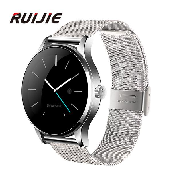 Prix pour Moniteur de Fréquence cardiaque K88H Smart Watch Bluetooth 4.0 Smartwatch MTK2502C Siri et Contrôle Gestuel Pour iOS Andriod Smartphones