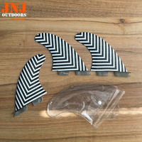 new design 100% fitted standard FCS II M G5 surfboard fins surf table fcs 2 fins with honeycomb