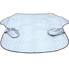 Окна автомобиля Защита от солнца шторы на ветровое стекло пена экран от солнца Солнцезащитная Накладка для машины авто для окна автомобиля крышка зима утолщение