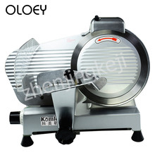 Semi-automatic Slicer 10 Inches Food Full Metal Body 250mm Blade Adjustable Slice Thickness Restaurant Equipment Mutton