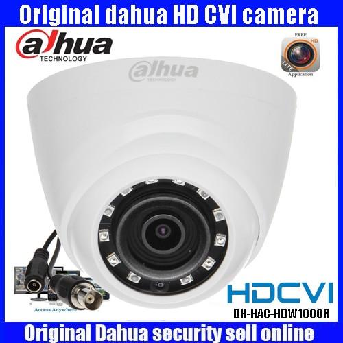 все цены на HD720p Dahua HDCVI Camera 1MP DH-HAC-HDW1000R HDCVI IR Dome Security Camera CCTV IR distance 20m HAC-HDW1000R