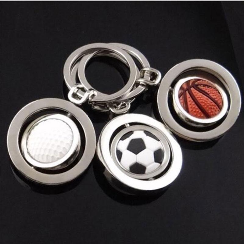 New Rotary Golf Basketball Football Keychain Keyring Association Commemorate Gift Gift