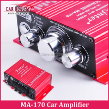 Mini 2ch DC 12V HI-FI Digital USB Stereo Audio Amplifier Speaker for Car Motorcycle Boat Kinter MA-170