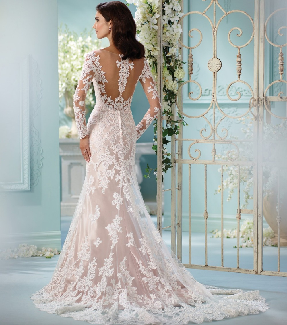 Exelent All Lace Wedding Dress With Sleeves Images - All Wedding ...