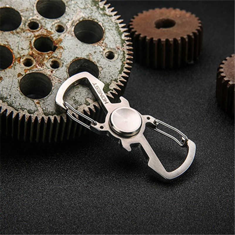 Спиннер Ручное Вращение пальцами брелок цепочка Топ EDC металлический подшипник куб игрушки для детей