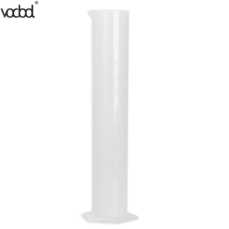 HOT 1000ml Plastic Translucent Laboratory Cylinder Graduated Measuring Cylinder Tool for Chemistry Lab Test School Supplies 1000ml glass graduated cylinder measuring cylinder measuring graduates glass graduate