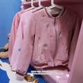 Kawaii Девушки Маленькая Лиса Вышивка Повседневная Одежда Мило Бейсбол Куртка Пальто Осень Старинные Молния Верхней Одежды Цвет Резиновый Розовый