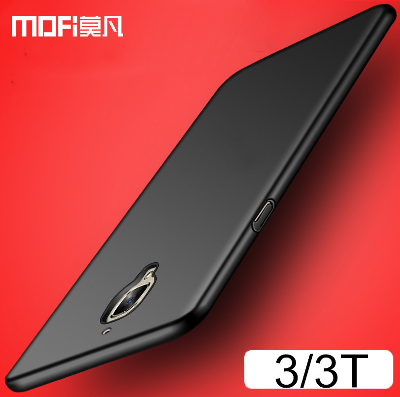 oneplus 3 case original oneplus 3t case cover hard back protection MOFi one plus 3 cover one plus 3t case 1 plus 3 capas
