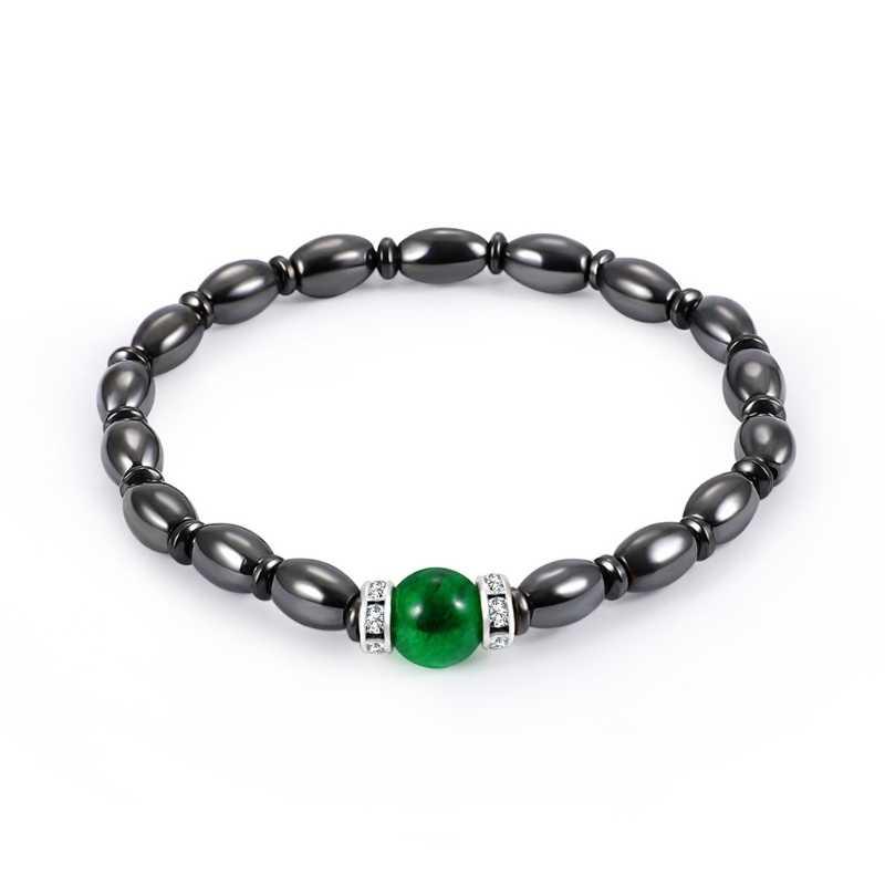 Модный магнитный браслет бусины для браслета терапия с помощью гематита M-shine Health Care женские ювелирные изделия A10_20