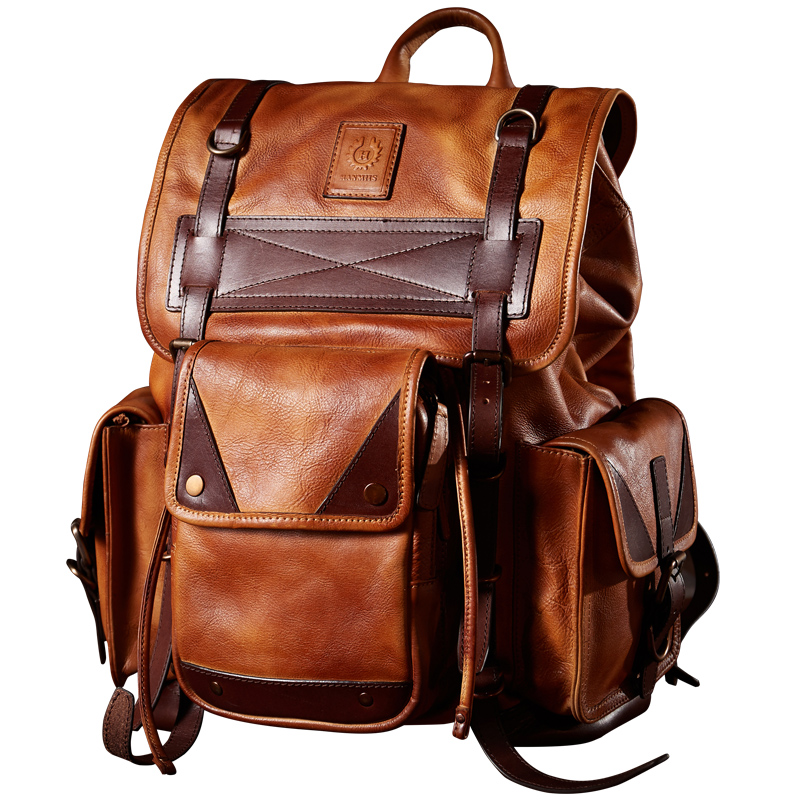 2018 New Style Mens Cow Leather backpack Large Capacity Travel Bags2018 New Style Mens Cow Leather backpack Large Capacity Travel Bags
