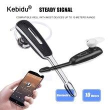 מיני אוזן וו עסקים Bluetooth אוזניות אלחוטי אוזניות אוזניות עם מיקרופון דיבורית סטריאו ספורט אוזניות רכב Earbud ערכת