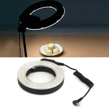 Профессиональный 48 LED кольцо вспышка света фотографии для Canon/Nikon/Pentax/Olympus/Panasonic/Sigma Vedio Камера DSLR объектива