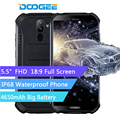 DOOGEE S40 Rugged Android 9.0 Mobile Phone 5.5 inch Display 4650mAh MT6739 Quad Core 2GB RAM 16GB ROM 8.0MP IP68/IP69K 4GNetwork