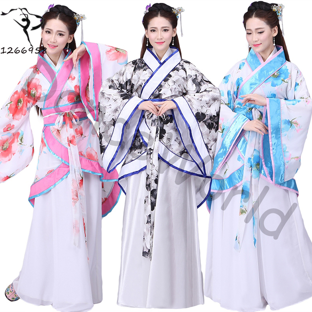 Original fairy costume hanfu dress ethnic costumes chinese ancient costumes for girl cosplay clothes  sc 1 st  AliExpress.com & Original fairy costume hanfu dress ethnic costumes chinese ancient ...