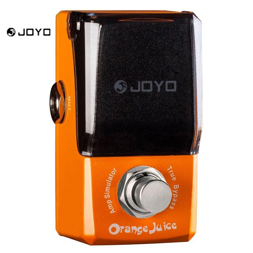 JOYO JF-310 Orange Distortion Pedal New Ironman Series Mini Effect Pedal Guitar Accessory