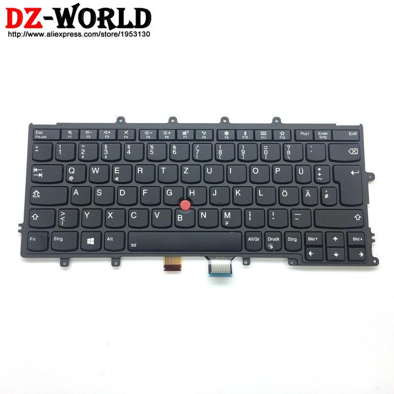 GR KBD BL New/Orig for Lenovo Thinkpad X270 A275 Backlit German Keyboard Germany Backlight Teclado 01EN598 01EP074 SN20L82582 все цены