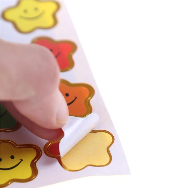 2/5/10 pièces/lot sourire petite étoile autocollant école enfants garçons filles enseignant récompenses Encouragement étiquette récompense artisanat bricolage jouets