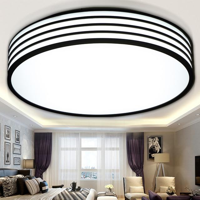 round modern ceiling lights bedroom fixtures lighting living lamp las luces del techo luminarias decoration light