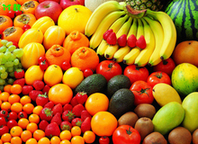 Free Shipping Large wall paintings, vegetables, fruits, store, supermarket, fresh fruit, decora