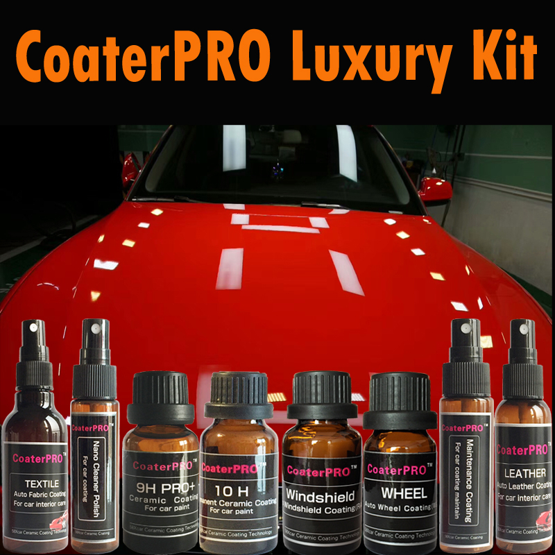 Car Paint Store >> Us 295 02 10 Off Coaterpro Luxury Kit Nano Automotive Paint Coating Car Coating Agent Car Paint Coating Liquid Made In Japan For Auto Detail Shop In