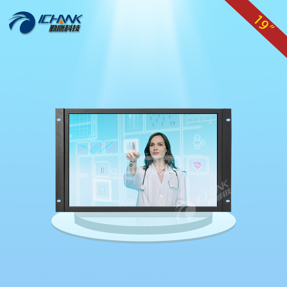 ZK190TC V592/19inch 1440x900 16:10 Widescreen HDMI Metal Case Embedded Open Frame Wall mounted Touch Monitor LCD Screen Display