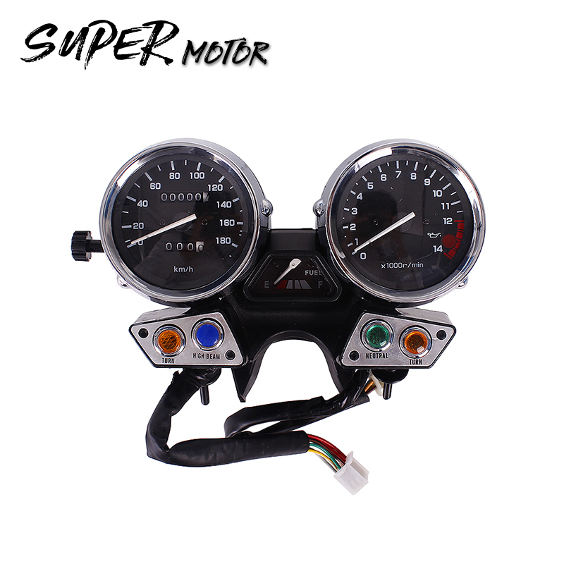 Instrument assembly gauges meter cluster speedometer odometer tachometer for Yamaha XJR400 1995 1996 1997 XJR 400 95 96 97 95-97