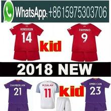 43cc3d3542c 2019 SALAH Child kids kit sets soccer jersey football shirt mohamed salah jersey  liverpool 18 19 · 14 Colors Available